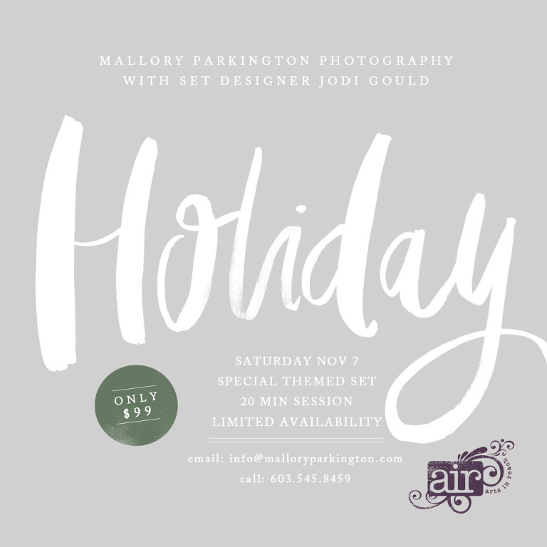 holiday set fundraiser
