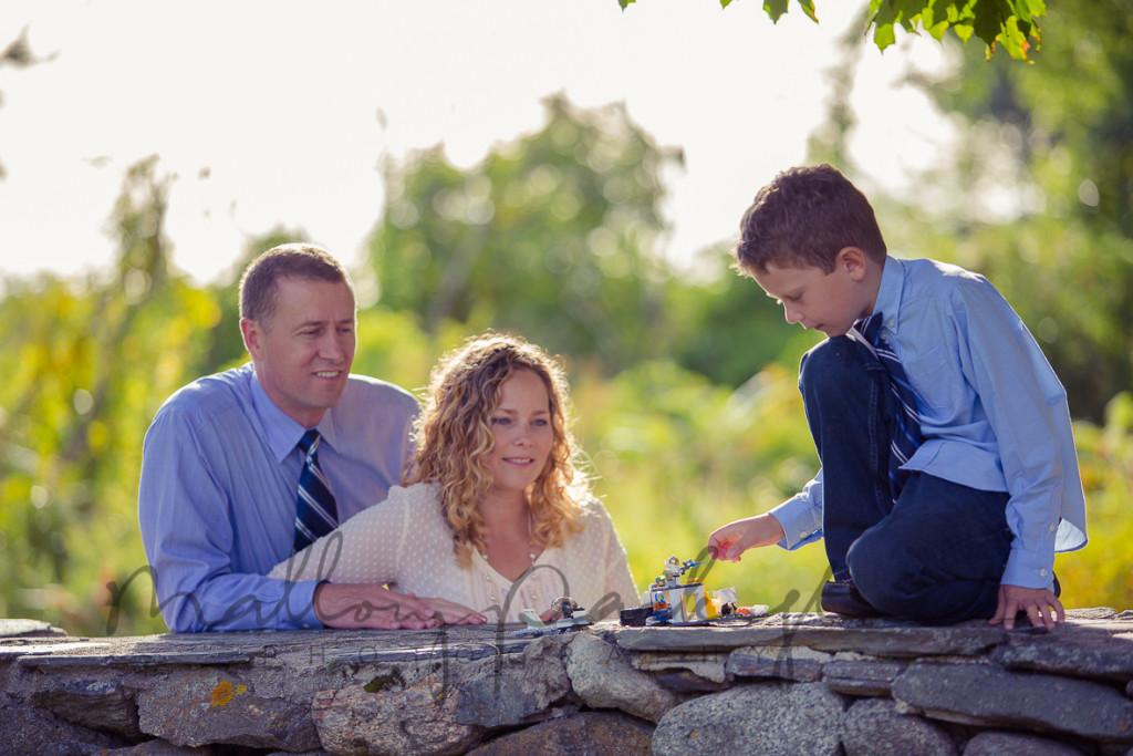 parents + son picts